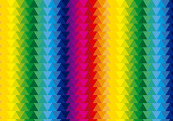 Multicolored Polygonal Pattern 3