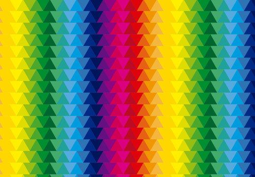 Multicolored Polygonal Pattern 3