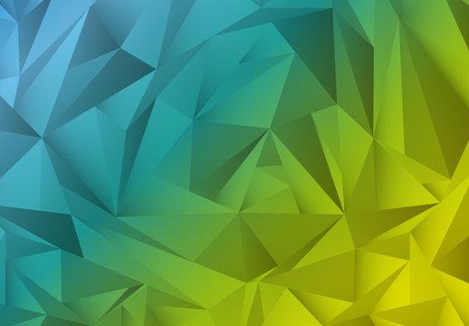 Multicolored Polygonal Pattern 4