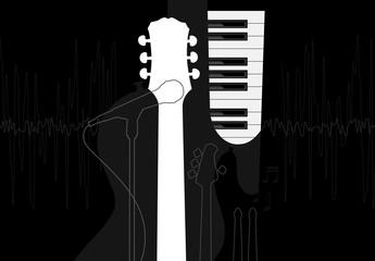 Grafica titolo musicale
