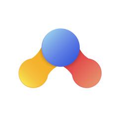 circle design  info graphic