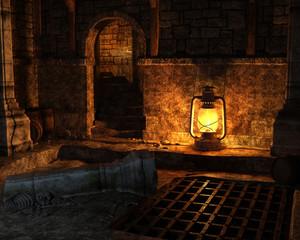 Dark spooky place