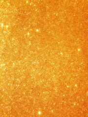 Vertical Gold Background Holiday Glowing Glitter