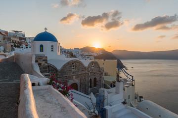 Sunrise at Oia , santorini