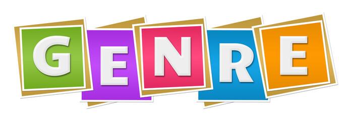 Genre Colorful Blocks