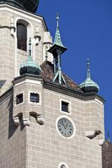 Wall Mural - Pfarrkirche Baden bei Wien, Turm