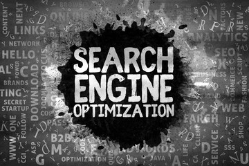 Search Engine Optimization, SEO, Typography