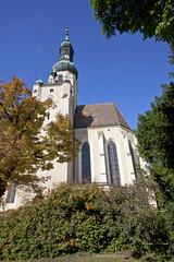 Wall Mural - Pfarrkirche Baden bei Wien, St. Stephan