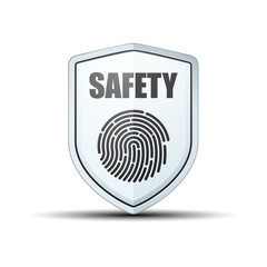 Fingerprint safety shield