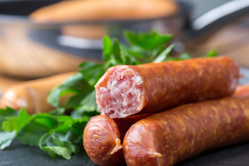 mettwurst sausages