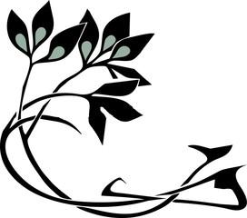 flower temporary tribal tattoos design