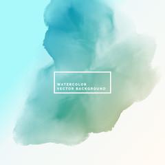 blue watercolor cloud flowing ink background