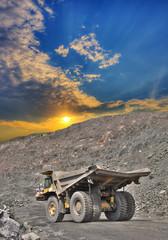Iron ore opencast