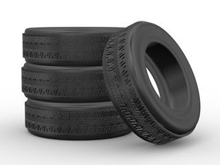 3d four tyres