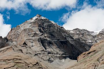 Karma axe Himalayas mountain Tibet sky and clouds