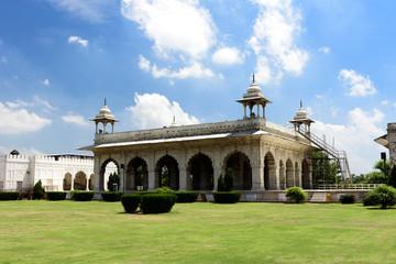 Deurstickers Buenos Aires Buildings inside Red-fort Delhi in India