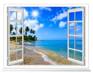 Okna z widokiem na ocean