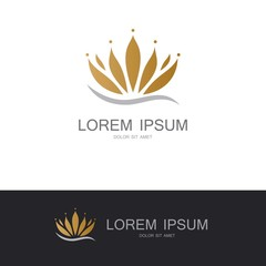 flower lotus spa logo