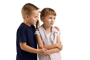 conflict between a boy and a girl