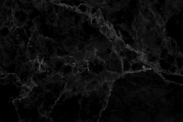 Black marble natural pattern for background and design.