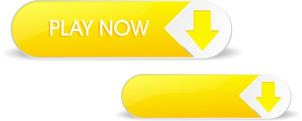 Yellow shiny play now button