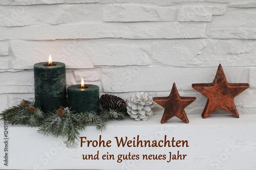 frohe weihnachten und ein gutes neues jahr stock photo. Black Bedroom Furniture Sets. Home Design Ideas