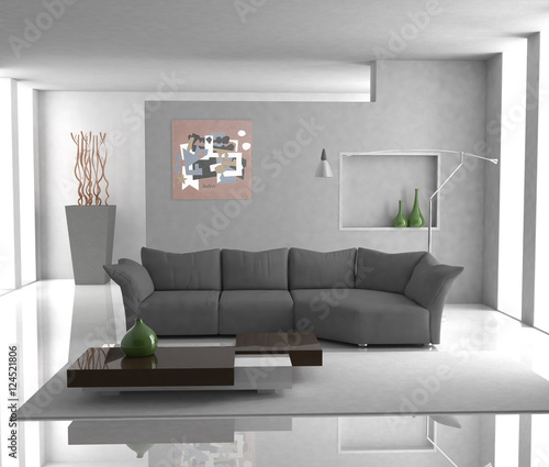 """Salotto moderno"" Stock photo and royalty-free images on Fotolia.com - Pic 124521806"