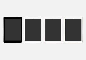 Maquettes vectorielles Tablette