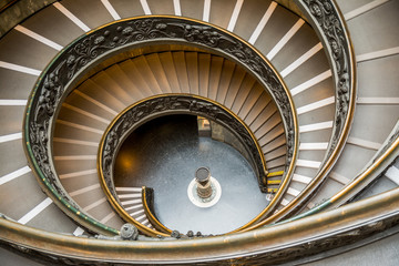 bramante staircase at vatican museum