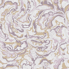 pattern with the image texture of smoke purple, beige and gray shades.