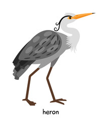 Image of nice heron