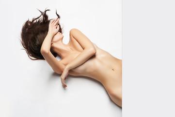 beautiful nude body girl