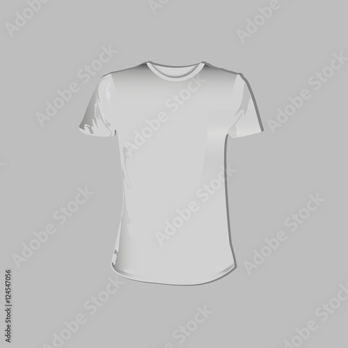 Vector Eps 10 T Shirt Template Front Side View Corporate Identity