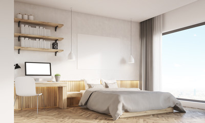 Home office and master bedroom