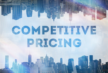 Competitive pricing concept image