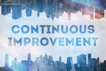 Continuous improvement concept image