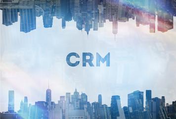 CRM concept image