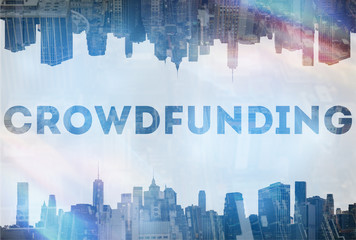 Crowdfunding concept image