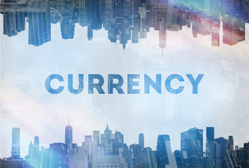 Currency exchange  concept image