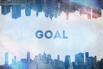 Goal concept image