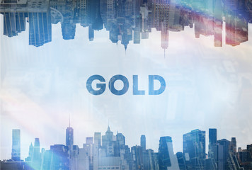 Gold concept image