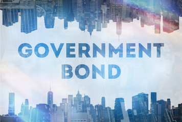 Government Bond concept image