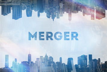 Merger  concept image