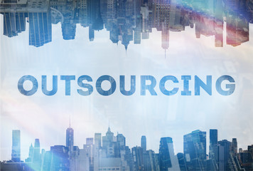 Outsourcing concept image