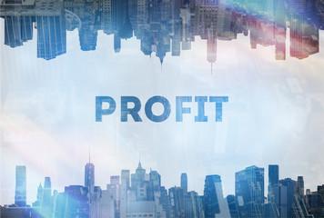 Profit concept image