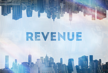 Revenue concept image