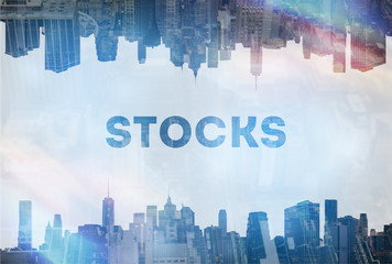 Stocks concept image