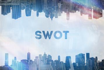 Swot concept image