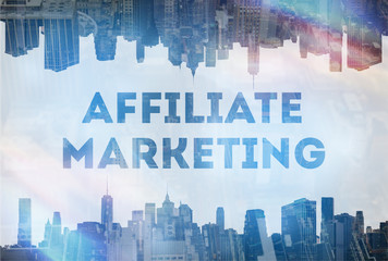 affiliate marketing concept image