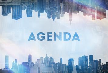 Agenda concept image